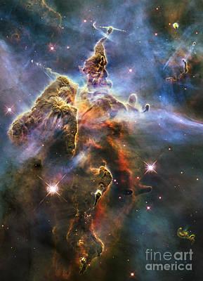 Photograph - Carina Nebula by Nicholas Burningham