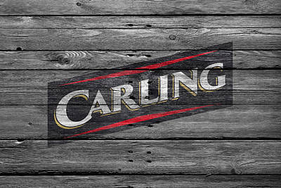Carlings Beer Photograph - Carling by Joe Hamilton
