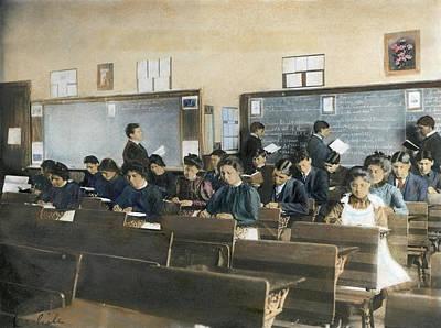 Carlisle School, C1902 Art Print by Granger