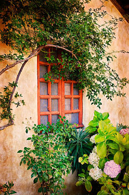 Photograph - Carmel Mission Window by James Hammond