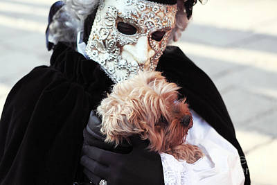 Carnival Dog Art Print by John Rizzuto