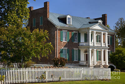 Historic Franklin Tennessee Photograph - Carnton Plantation by Brian Jannsen