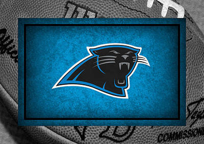 Newton Photograph - Carolina Panthers by Joe Hamilton