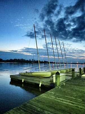 Photograph - Carolina Wind Yachting Center by Patricia Januszkiewicz