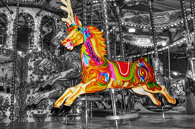 Photograph - Carousel In Bournemouth by Chris Day
