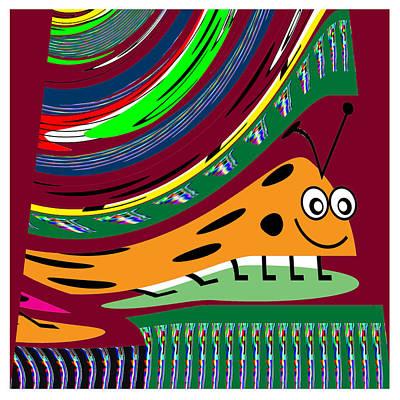 Cartoons Kids Love Electronic Survillance Organic Spy Agents Original by Navin Joshi
