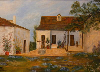 Painting - Casa Navarro by Cheryl Damschen