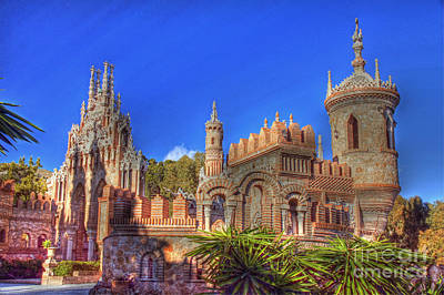 Photograph - Castillo Colomares by Rod Jones