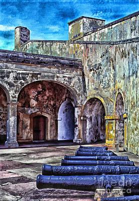 Old San Juan Digital Art - Castillo De San Cristobal by Thomas R Fletcher