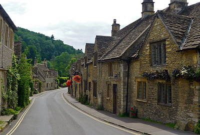 Photograph - Castle Combe by Denise Mazzocco