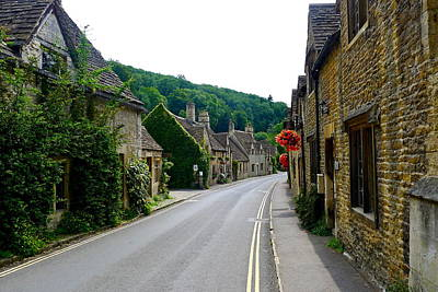 Photograph - Castle Combe Street by Denise Mazzocco