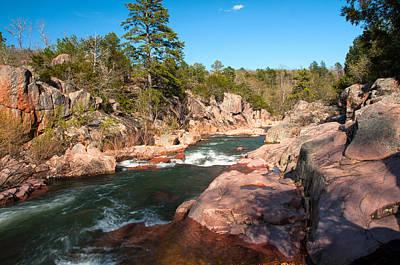 Photograph - Castor River Shut Ins by Steve Stuller