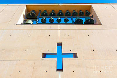 Cathedral Of Our Lady Of The Angels In Los Angeles. Art Print by Jamie Pham