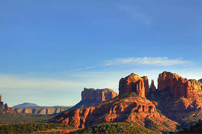 Photograph - Cathedral Rocks In Sedona by Alan Vance Ley
