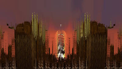 Painting - Cathedral by Thomas Bryant