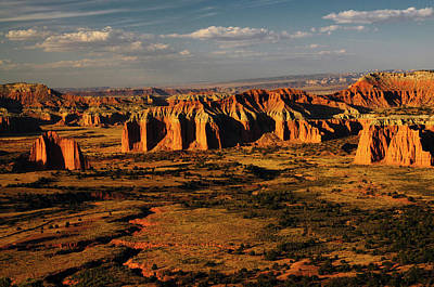 Cathedral Valley, Capitol Reef National Art Print