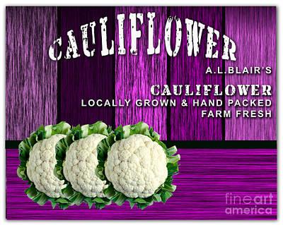Cauliflower Farm Art Print by Marvin Blaine