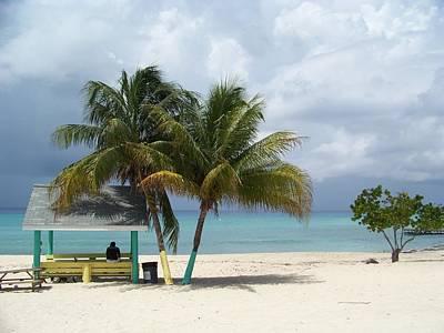 Cayman Beach Art Print by Robert Teeling