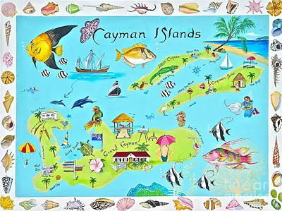 Banff Artist Painting - Cayman Islands by Virginia Ann Hemingson