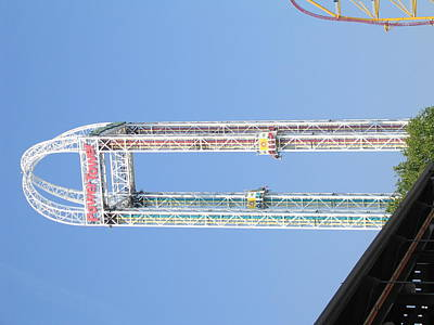 Cedar Point - 12126 Art Print by DC Photographer