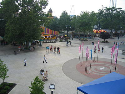 Cedar Photograph - Cedar Point - 12128 by DC Photographer