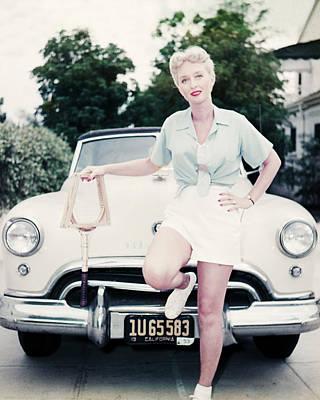 Celeste Photograph - Celeste Holm by Silver Screen