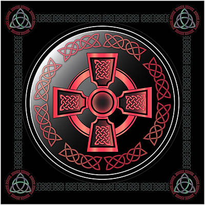 Digital Art - Celtic Cross by Ireland Calling