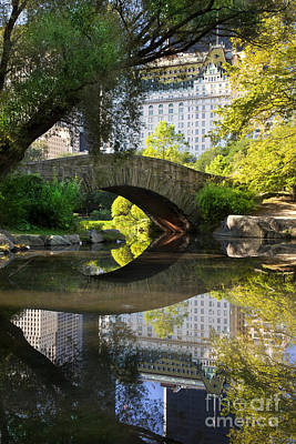 Photograph - Central Park by Brian Jannsen