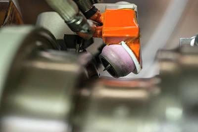 Welded Photograph - Cern Upgrade by Cern