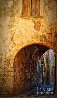 Port Town Digital Art - Chania Alley by Antony McAulay