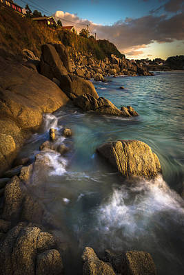 Photograph - Chanteiro Beach Galicia Spain by Pablo Avanzini