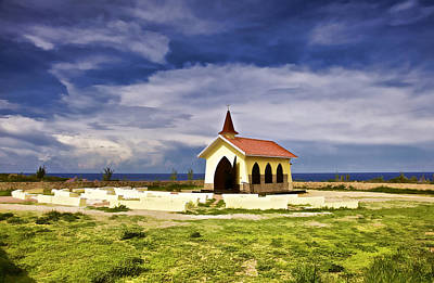 Photograph - Chapel By The Sea by David Letts
