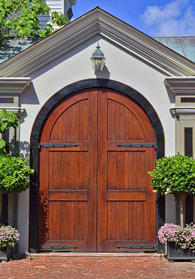 Photograph - Charleston Doors 2 by Allen Beatty