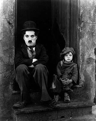 Comedy Photograph - Charlie Chaplin by Retro Images Archive