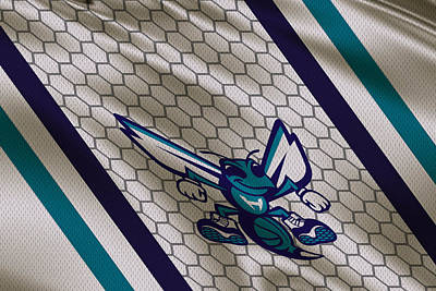 Charlotte Hornets Uniform Art Print