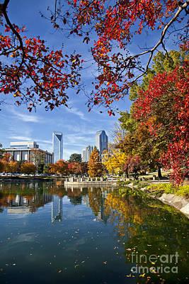 Photograph - Charlotte North Carolina Marshall Park by Jill Lang