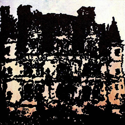 Painting - Chateau IIi by Oscar Penalber