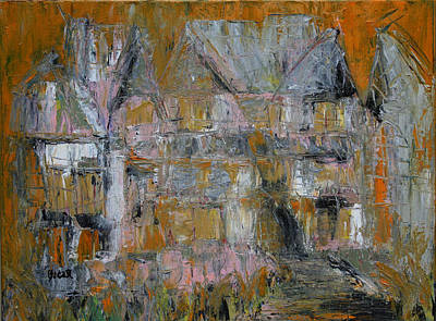 Painting - Chateau One by Oscar Penalber