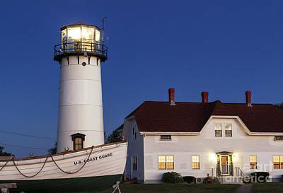 Chatham Lighthouse Photograph - Chatham Lighthouse by John Greim