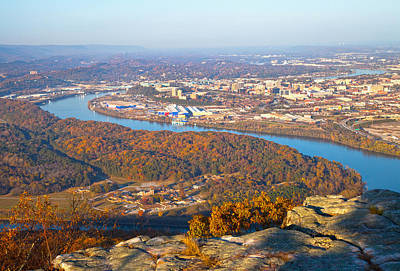 Photograph - Chattanooga In Autumn by Melinda Fawver