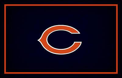 Pad Photograph - Chicago Bears by Joe Hamilton