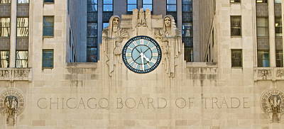 Chicago Board Of Trade Art Print