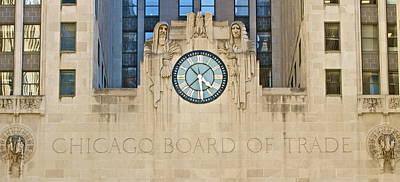Chicago Board Of Trade Art Print by John Babis