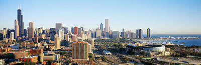 Soldier Field Wall Art - Photograph - Chicago, Illinois, Usa by Panoramic Images