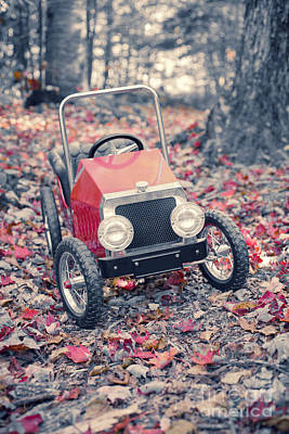 Peddle Car Photograph - Childhood Memories by Edward Fielding