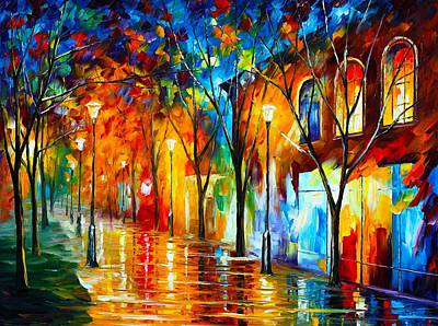 Owner Painting - Chill Energy by Leonid Afremov