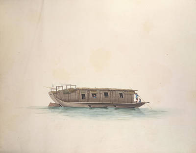 Illustration Technique Photograph - Chinese Vessel by British Library