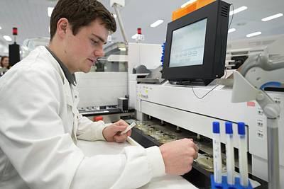 Automation Photograph - Chlamydia Testing by Aberration Films Ltd