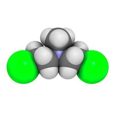 Chemotherapy Photograph - Chlormethine Cancer Chemotherapy Drug by Molekuul