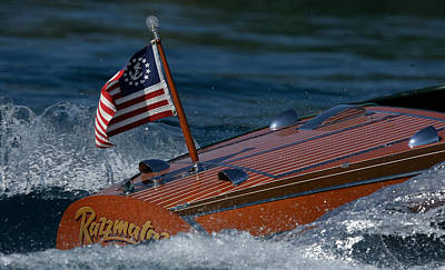 Chris-craft Classic Print by Steven Lapkin